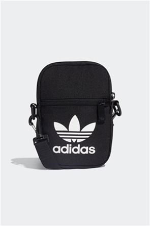 """Adidas ανδρικό τσαντάκι με logo print """"Trefoil Festival Bag"""""""