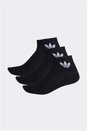 Adidas σετ unisex κάλτσες με κεντήμενο λογότυπο ''Mid Cut Crew'' (3 ζεύγη)