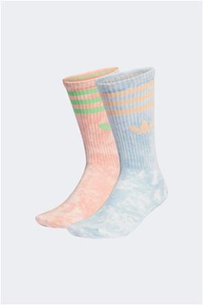 Adidas σετ unisex ψηλές κάλτσες Tie-dye (2 ζεύγη)