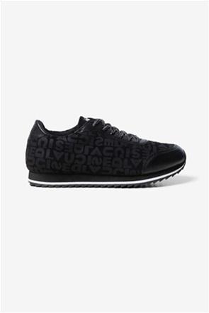 "Desigual γυναικεία sneakers με logo letter print ""Pegaso"""
