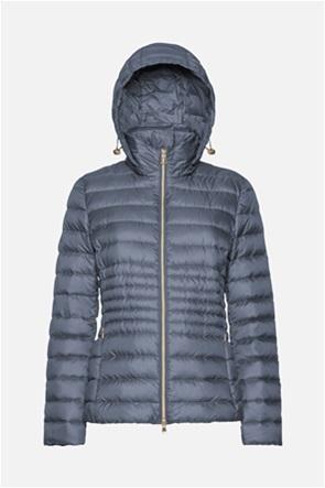 Geox γυναικείο μπουφάν με κουκούλα και ζώνη στη μέση ''Tianna''