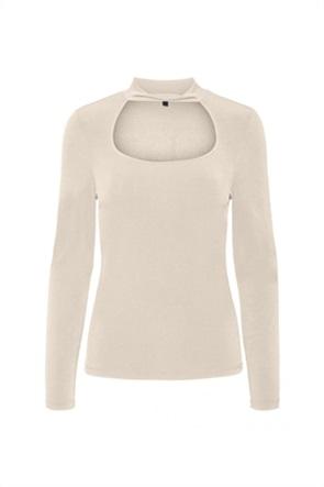 Vero Moda γυναικεία μπλούζα μονόχρωμη