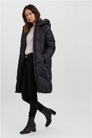 Vero Moda γυναικείο μπουφάν με καπιτονέ σχέδιο και κουκούλα
