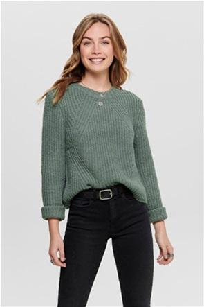 ONLY γυναικείο πουλόβερ μονόχρωμο