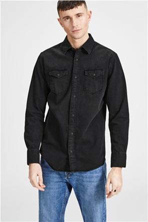 JACK & JONES ανδρικό πουκάμισο denim
