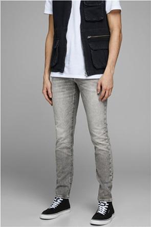 "JACK & JONES ανδρικό τζην παντελόνι με ξεβαμμένη όψη Slim fit ""JOS 800"""