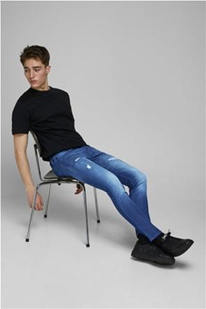 "JACK & JONES ανδρικό τζην παντελόνι ""Glenn Fox AM 992"" Slim Fit"