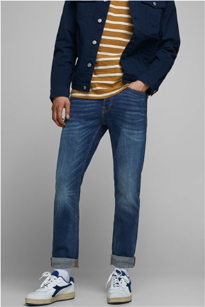 JACK & JONES ανδρικό πεντάτσεπο τζην παντελόνι ''Tim''