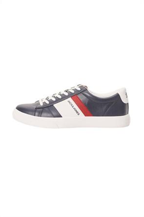 JACK & JONES ανδρικά sneakers με ριγέ λεπτομέρεια