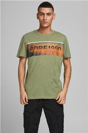 JACK & JONES ανδρικό Τ-Shirt με letter print