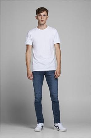 "JACK & JONES ανδρικό τζην παντελόνι Slim-Fit ""Glenn Original AM 812"""
