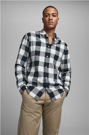 "JACK & JONES ανδρικό πουκάμισο καρό ""Gingham Checked"""