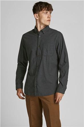 JACK & JONES ανδρικό πουκάμισο button-down Slim Fit