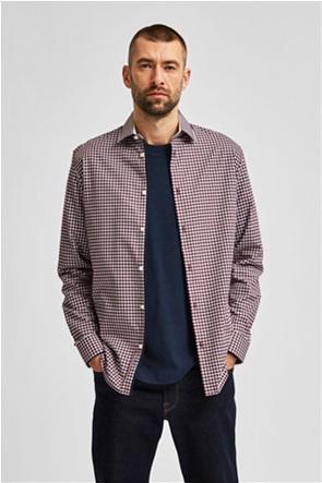 Selected ανδρικό πουκάμισο μακρυμάνικο Slim fit