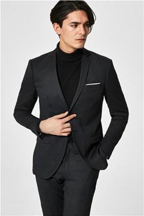 SELECTED ανδρικό σακάκι Slim fit με τσέπες