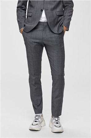 Selected ανδρικό καρό παντελόνι Slim Fit