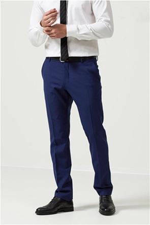 Selected ανδρικό παντελόνι μονόχρωμο Slim Fit