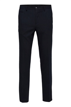 Selected ανδρικό παντελόνι με ριγέ σχέδιο Slim Fit