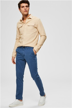 Selected ανδρικό παντελόνι με τσέπες Slim fit