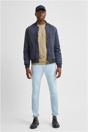 Selected ανδρικό τζην παντελόνι πεντάτσεπο Slim Fit