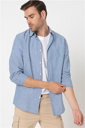 Selected ανδρικό πουκάμισο με ριγέ σχέδιο Slim Fit