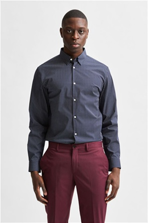 Selected ανδρικό πουκάμισο button-up Slim Fit