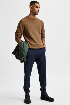 Selected ανδρικό παντελόνι με καρό σχέδιο Slim Tapered Fit