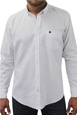 """DORS ανδρικό πουκάμισο μονόχρωμο """"Oxford"""""""
