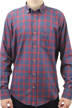 Dors ανδρικό πουκάμισο button-down με καρό σχέδιο