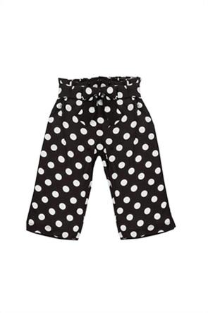 Grant EMC παιδική παντελόνα κάπρι με πουά σχέδιο