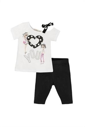 Grant EMC παιδικό σετ μπλούζα με print και κολάν