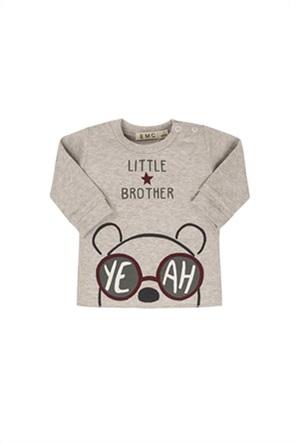 Grant EMC βρεφική φούτερ μπλούζα με print