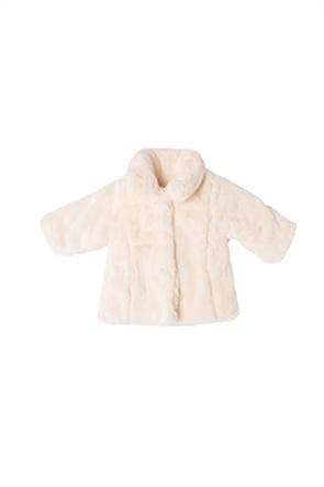 Grant Babybol βρεφικό παλτό με faux γούνα