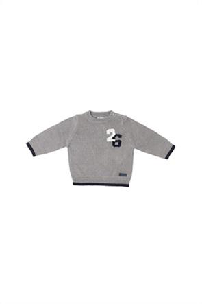 Grant Babybol βρεφική πλεκτή μπλούζα με στρογγυλή λαιμόκοψη