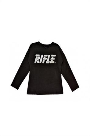 Grant Rifle παιδική μπλούζα με graphic print