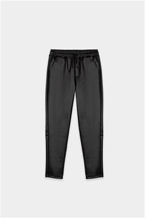 Grant Tiffosi παιδικό παντελόνι μονόχρωμο faux leather