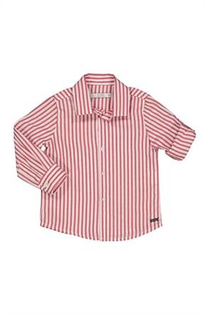 Grant Birba βρεφικό πουκάμισο με ριγέ σχέδιο