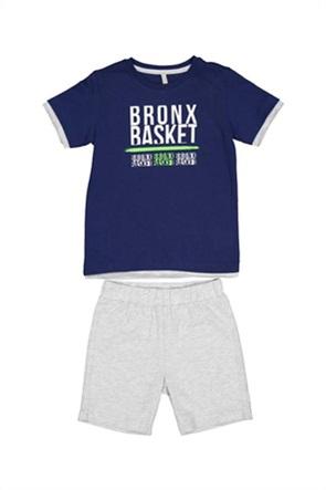 Grant TryBeyond παιδικό σετ ρούχων με T-shirt και βερμούδα