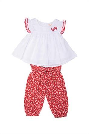 Grant Babybol βρεφικό σετ ρούχων με T-shirt και παντελόνι με all-over pirnt (2 τεμάχια)