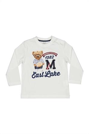 Grant Birba βρεφική μπλούζα με teddy bear print ''East Lake''