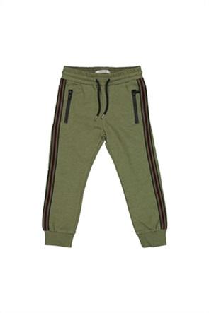 Grant TryBeyond παιδικό παντελόνι φόρμας με ριγέ σχέδιο