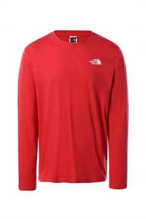 The North Face ανδρική μπλούζα με oversized logo print στο πίσω μέρος