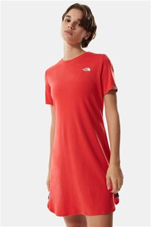 The North Face γυναικείο mini φόρεμα μονόχρωμο με logo print ''Sımple Dome''