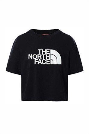 The North Face γυναικείο T-shirt cropped με logo print ''Easy''