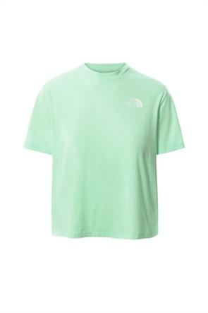 "The North Face γυναικείο cropped T-shirt με logo print ""Foundation"""