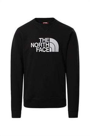 """The North Face ανδρική μπλούζα φούτερ με logo print """"Peak Crew"""""""