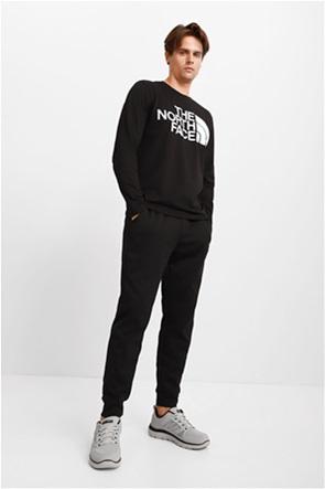 "The North Face ανδρικό παντελόνι φόρμας με κεντημένο λογότυπο ""Exploration"""