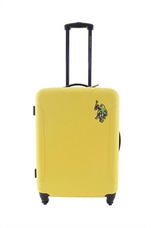 "U.S. Polo Βαλίτσα τροχήλατη ABS ""New Leader"" 58 x 44,5 x 25 cm"