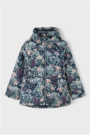 Name It παιδικό μπουφάν με all-over floral print