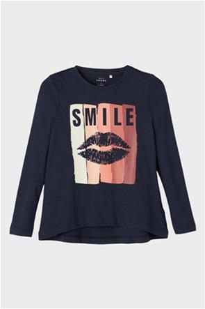 Name it παιδική μπλούζα μακό με τύπωμα